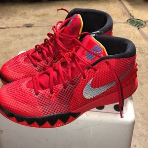 Nike Air Kyrie 1 Deceptive Red Black 705277- 606